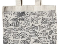 Textile Ideen Doodle Bags