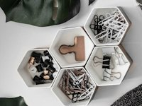 The Beautydojo Hexagon Organizers