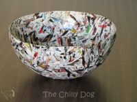 The Chilly Dog Shredded Paper Bowl