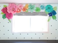 The Craft Patch Giant Paper Flowers