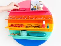 The Crafted Life Rainbow Circle Shelf