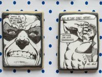 The Simple Sweet Life Comic Cookies