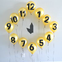 The Suburban Mom New Years Eve Balloon Countdown Clock
