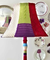 The Unique Boutique Company Knitted Lampshade