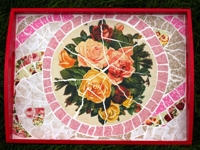 ThinkCrafts Paper Mosaic Tray
