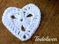 Todolwen New Crocheted Heart