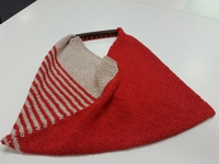 Tolt Yarn and Wool Knitted Folded Bag