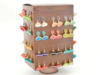 Vikalpah Rotating Cardboard Jewelry Holder