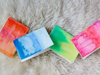 Wandeleur Watercolour Greeting Cards