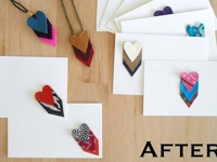We Can Re-Do It Heart-Pendants Valentine Card