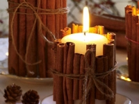 Wohnidee Cinnamon Candles