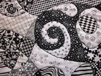 Zany Quilter Zentangle Quilt