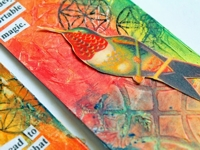bloglovin punk projects Hummingbird Bookmark