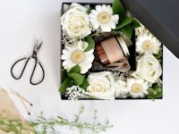 burkatron Fresh Flower Gift Box