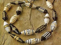 craft African Style Paper Beads