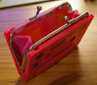 craftster Cassette Tape Coin Purse