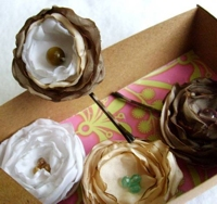 craftster Textile Roses