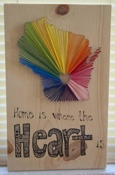 craftster kneser My Home String Art