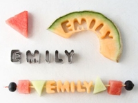 creativeLIVE Brittni Mehlhoff Fruit Letters