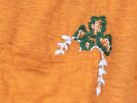 ctrl+curate Embroidered Pocket Plants