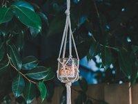 decor hint Macrame Jar Hanger