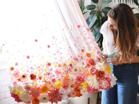 designlovefest Flower Curtain
