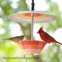erins creative energy Bird Feeder
