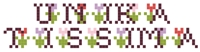 helimadoe Word Cross Stitch Pattern Generator