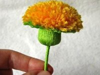 i Creative Ideas Yarn Dandelion