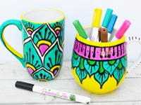 iLoveToCreate Painted Mug