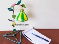 instructables Ananvita Plastic Bottle Table Lamp