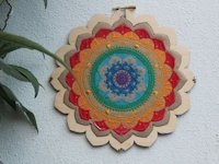 instructables Louissia Embroidered Mandala