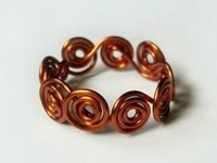 instructables Muhaiminah Faiz Wire Swirl Ring