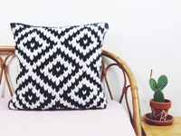 instructables Trustthemojo Knitted Jacquard Pillow