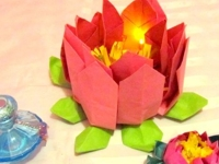 instructables Umamaheswari Anandane LED Lotus Votive