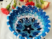 instructables ZsuzsannaKB Quilled Paper Bowl