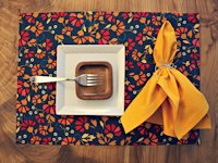 instructables amalkhan No-sew Placemats
