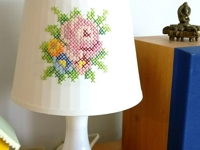 instructables anat_w Embroidered Lampshade