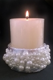 instructables annestrasserwriter Pearl Candle Holder
