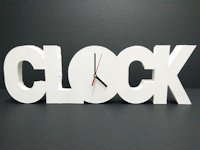 instructables apapercraft Polystyrene Clock