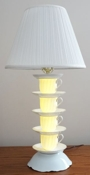 instructables cpurola Tea Cup Lamp