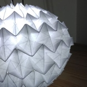 instructables jake_lee_1105 Origami Lamp II
