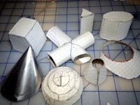 instructables kymyst Design Different Geometric Shapes with Cardboard