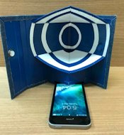 instructables neslo63 Foldable Smartphone Speaker