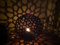 instructables stregoi Star Pattern Lamp