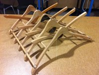 instructables subbassics Wood Hanger Dish Drying Rack