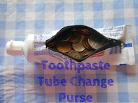 instructables violingirl Toothpaste Tube Coin Purse