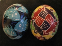 instructables yorisimo Pysanky Escher Easter Eggs