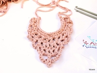 islaura Crochet Bib Necklace