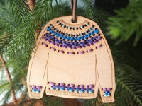 katrinkles Embroidered Sweater Ornament
